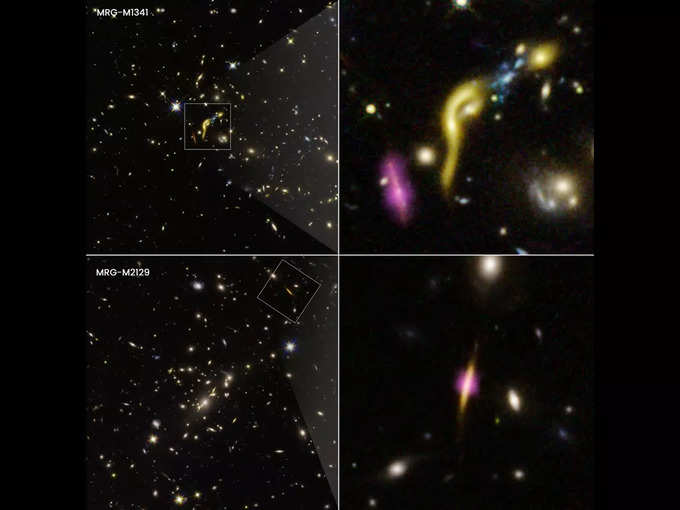Hubble took a picture of the dead galaxies