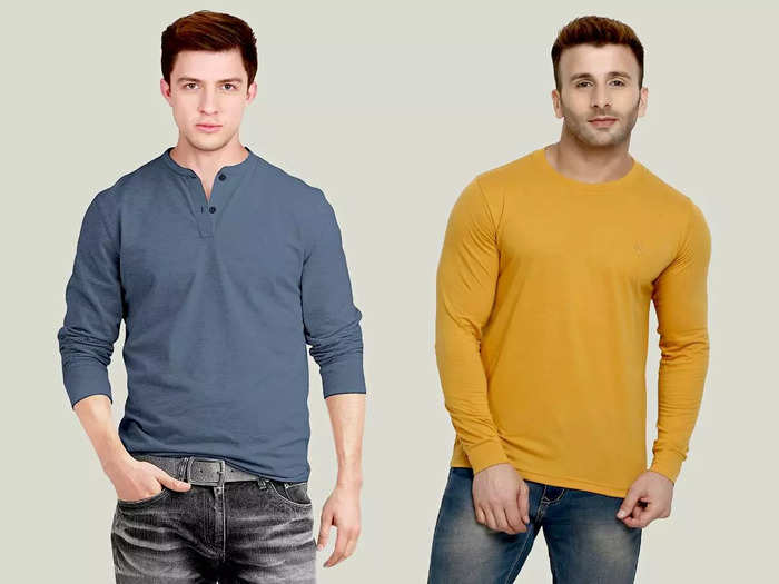 किसी भी मौसम पहनें ये Full Sleeves T-shirt, मिलेगा स्टाइलिश हैंडसम लुक