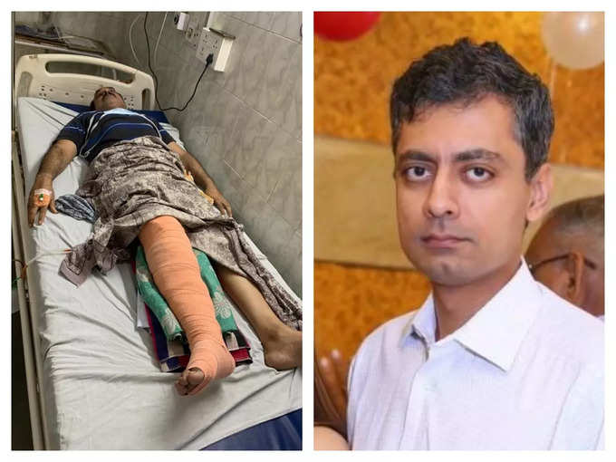 Patient Sanjeev Arora and Dr Sumit Arora