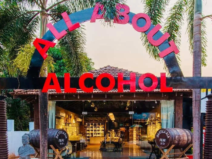 All about alcohol museum