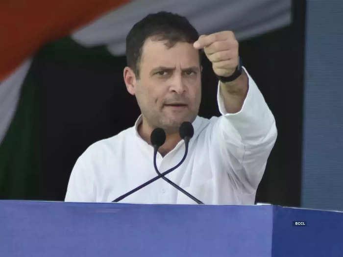 rahul gandhi targets pm modi on china