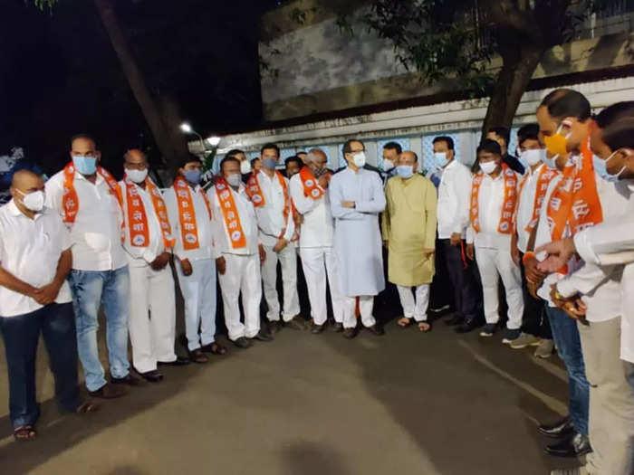 12 corporator joins shiv sena