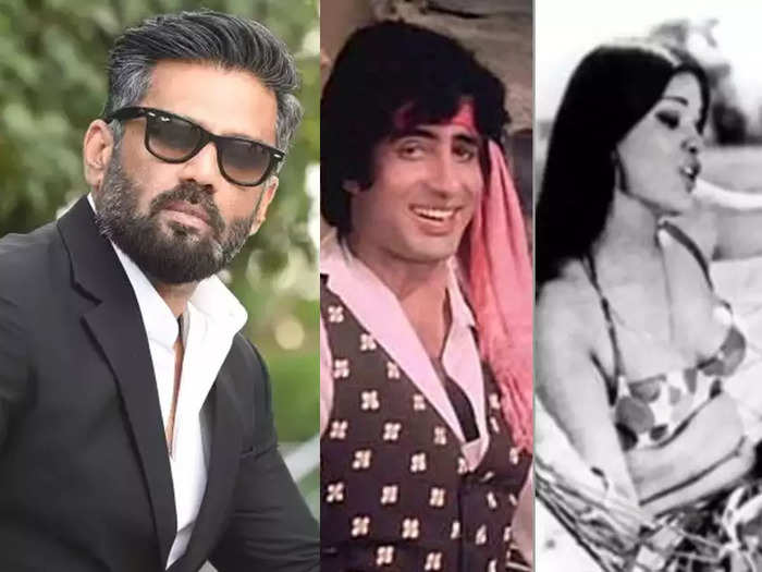 Sunil Shetty met Amitabh Bachchan for the first time Don Set