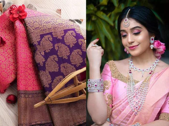 Banarasi Saree : ₹832 की स्टार्टिंग प्राइस पर मिल रही हैं बनारसी सिल्क की ये Saree, मिलेगा स्टनिंग टच