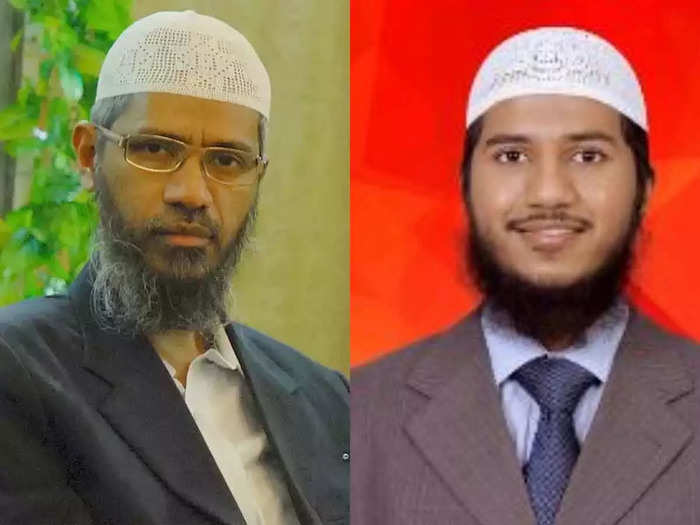 Zakir Naik son