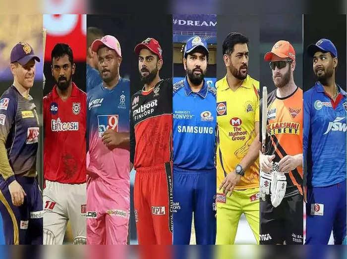 IPL 2021 Teams in 2nd leg