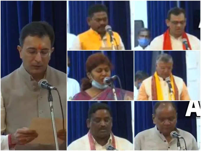 7 new ministers included in Yogi cabinet