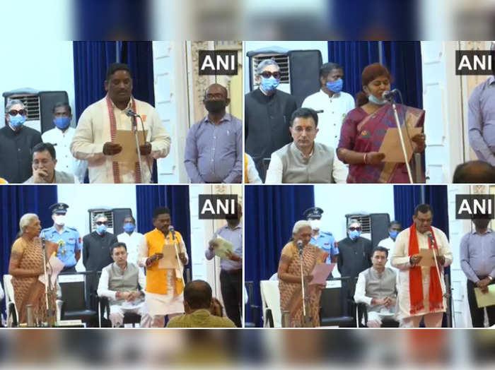 uttar pradesh cabinet expansion 7 ministers take oath jitin prasada minister