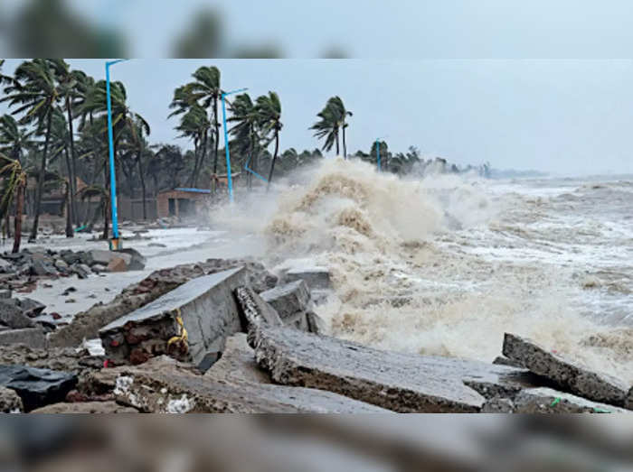 Cyclone Gulab likely to cross Andhra, Odisha coasts by midnight