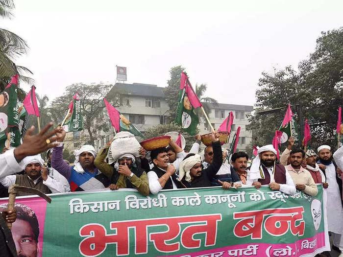 bharat bandh today 27 september 2021 modi govt vs farmers in delhi a fight continues