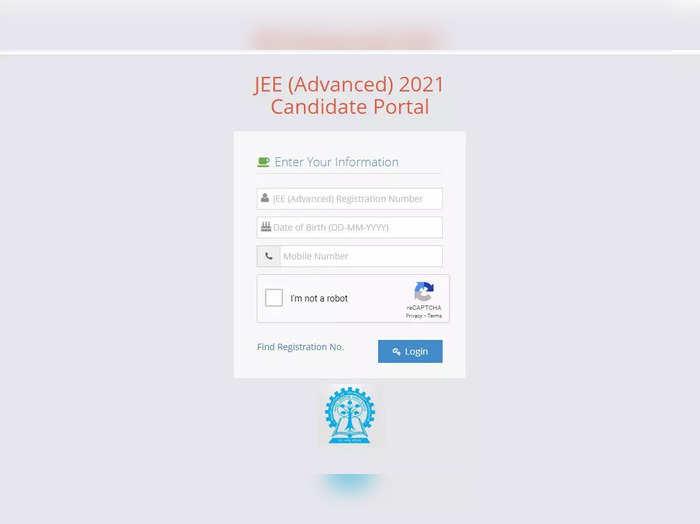 JEE Advanced 2021 ಪರೀಕ್ಷೆಗೆ ಅಭ್ಯರ್ಥಿಗಳ ಪ್ರವೇಶ ಪತ್ರ ಪ್ರಕಟ