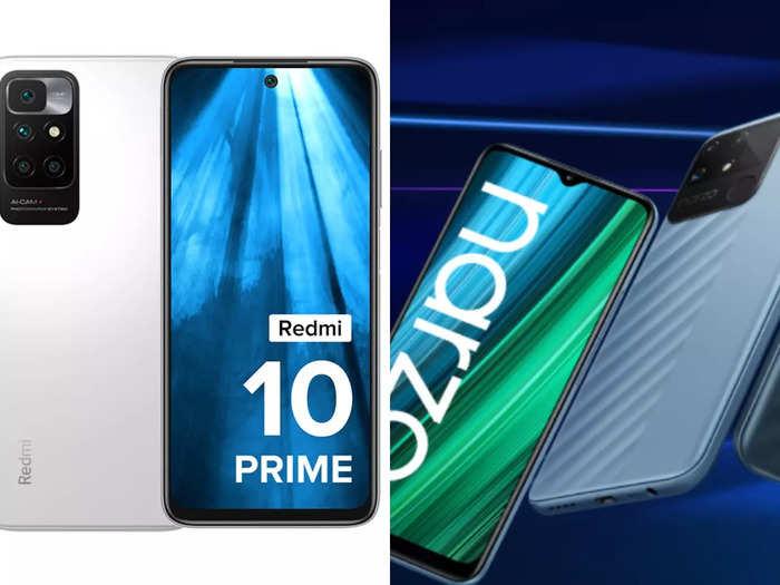 redmi 10 prime vs realme narzo 50a