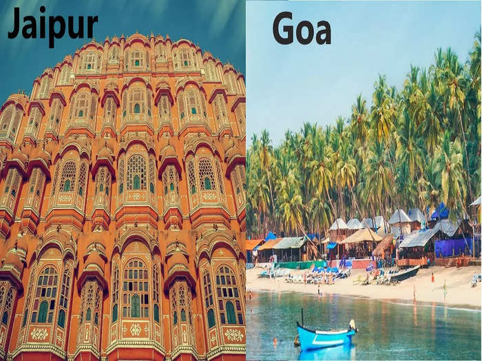 plan this weekend indians favourite vacation destination jaipur and goa