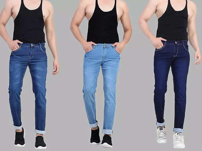 ₹1,249 रुपए में खरीदें 3 पेयर Mens Jeans, जींस की क्वालिटी भी है लाजवाब