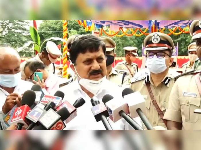home minister agaga gnanendra