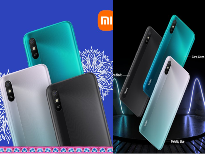 Redmi 9i Sport and Redmi 9A Sport Launched in india