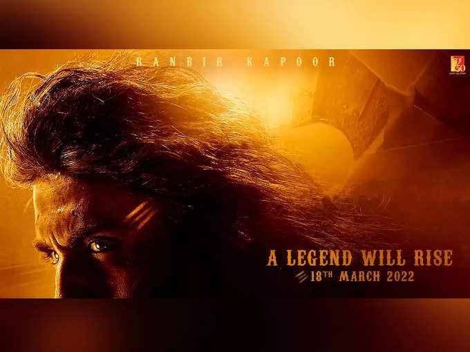 Ranbir Kapoor Look From Shamshera