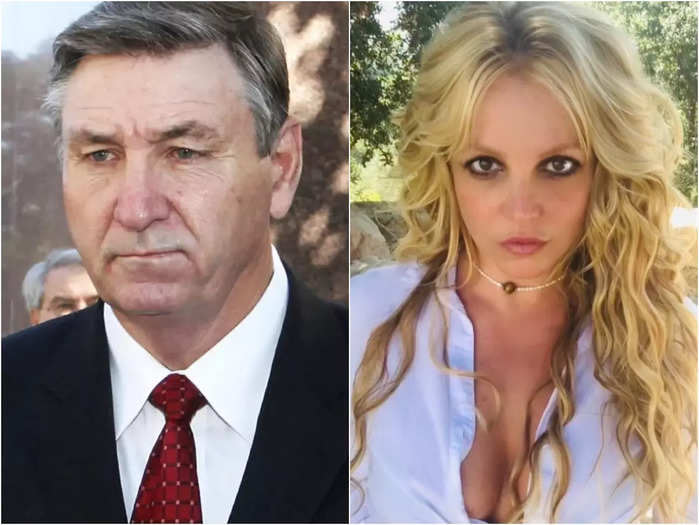 Britney Spears and Father James