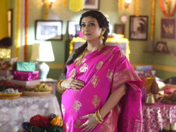 kumkum bhagya serial tv actress juhi parmar weight loss transformation after pregnancy