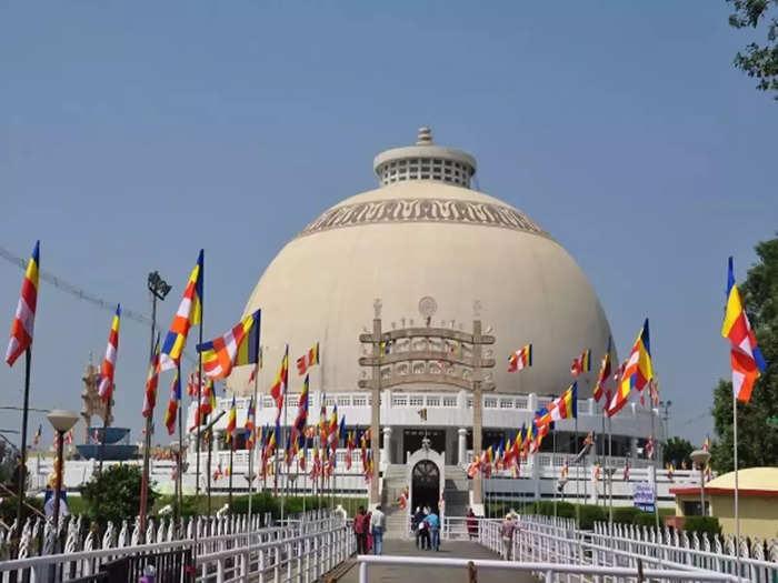 There is no Dhamma Chakra Pravartan Din ceremony at Deekshabhoomi in Nagpur this year