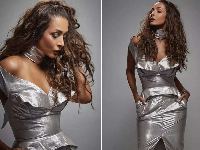 malaika arora shares ultra gorgeous photos on instagram in silver party dress will blow away your mind