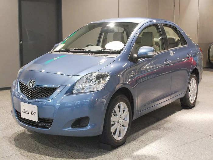 Toyota Belta Sedan Car Launch Date Price Features