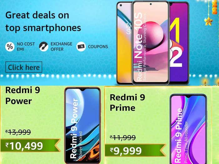 ग्रेट इंडियन सेल से कम बजट रेंज में मिलेंगे ये Redmi Smartphones, कीमत ₹9,999 से शुरू