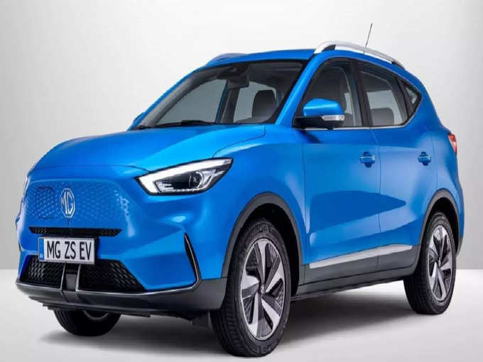 2022 MG ZS EV Unveiled Battery Range Price Features 1