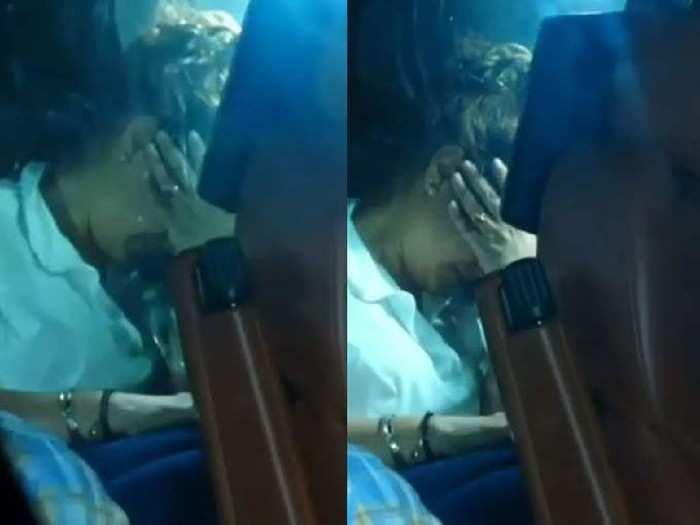 मुलाला तुरुंगात पाहून गौरी खानला अश्रू अनावर, गाडीत बसून रडतानाचा व्हिडीओ वायरल