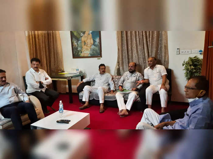 all party panel of shiv sena ncp congress and bjp for the election of jalgaon district central co operative bank