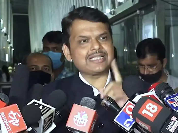 ncb released a person who is close to the son of a senior ncp leader says devendra fadnavis