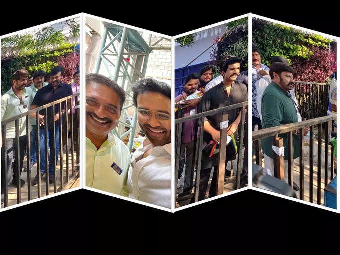 MAA Elections 2021: తరలివచ్చిన సినీ తారలు (ఫొటోలు)