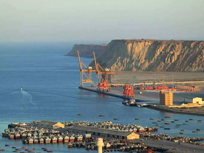 Pakistan China cpec Karachi coast