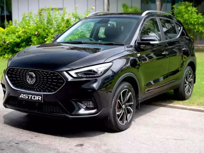 mg astor suv launched in india with ai and adas rival for creta, seltos check price specifications