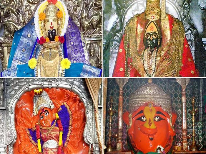 shardiya navratri 2021 in marathi significance of sadetin shakti peeth of goddess shakti in maharashtra