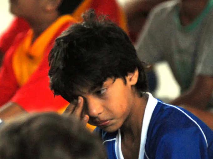 आर्यन खान के बचपन की वो तस्वीरें, जब खेल में हार पर खूब जमकर रोए थे