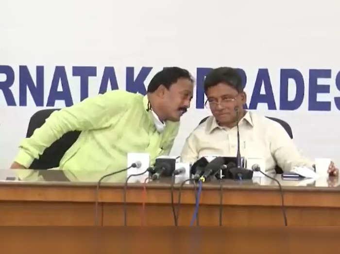 karnataka congress controversy vs ugrappa and ma salim alleged viral video on dk shivakumar
