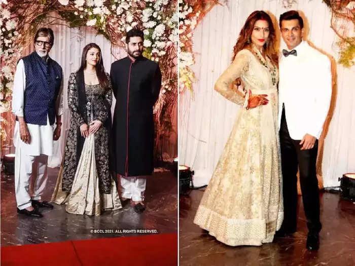 bollywood actress aishwarya rai wore black and white dress her look was more glamorous than divya khosla kumar