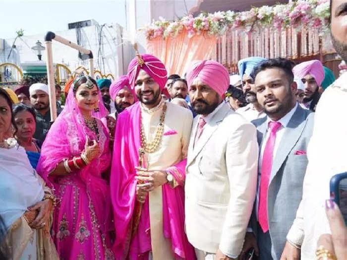 channi son wedding