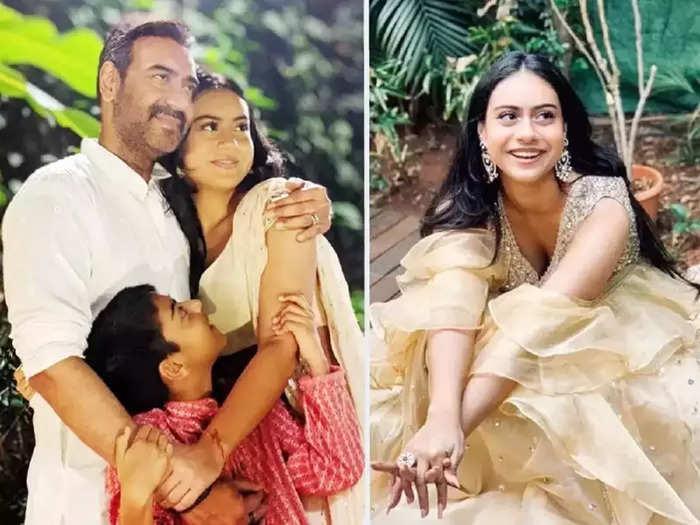actor ajay devgan daughter nysa devgan hot and bold dress look