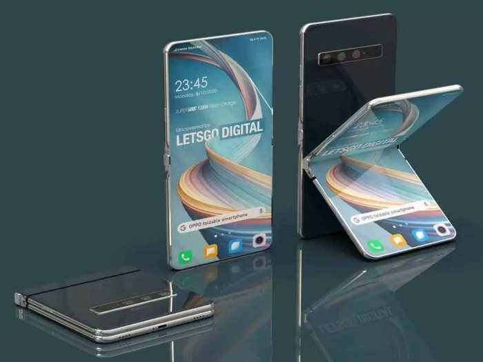 oppo foldable smartphone