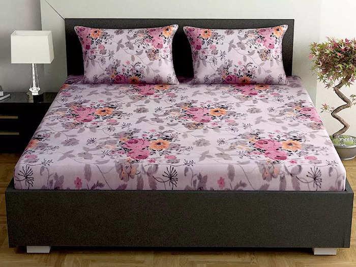 कॉटन फैब्रिक से बनी हैं ये लेटेस्ट डिजाइन वाली Bedsheet, पाएं आरामदायक नींद