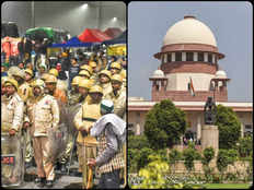 ghazipur border nh 24 block due to farmers protest supreme court hearing read full article